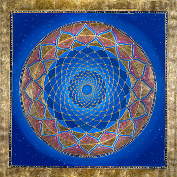 sacred geometry activation flower of life