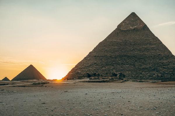 Spiritual Journey to MerAkhet Pyramids Sunset