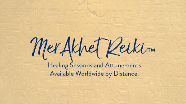 Spiritual Journey to MerAkhet Reiki Banner