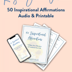 50 Inspirational Affirmations Audio